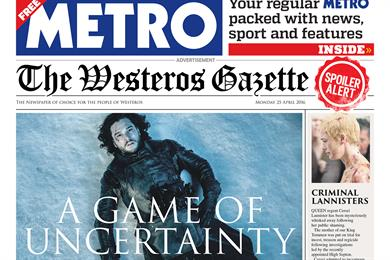 Things we like: Game of Thrones coverwrap