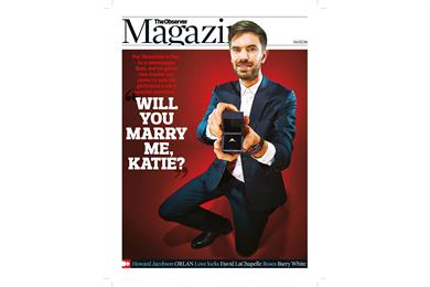 Things we like: A front-page marriage proposal