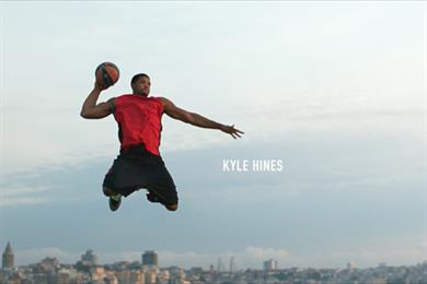 Turkish Airlines ad sees European basketball players take flight