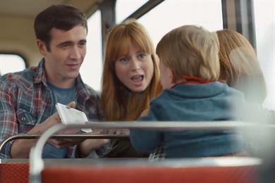 Vodafone picks Grey London for 'quad play' launch