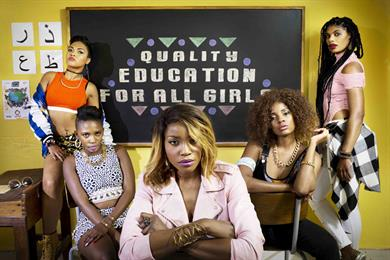 Spice Girls spoofed in Project Everyone campaign for women's rights