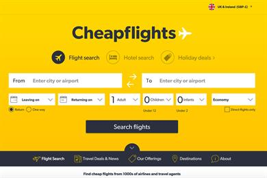 Cheapflights appoints Forever Beta and Goodstuff to launch rebrand