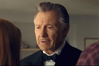 Watch Harvey Keitel's Wolf bark again in new Direct Line ads