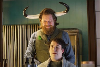 EToro's first UK ad features amateur traders with giant bull's horns