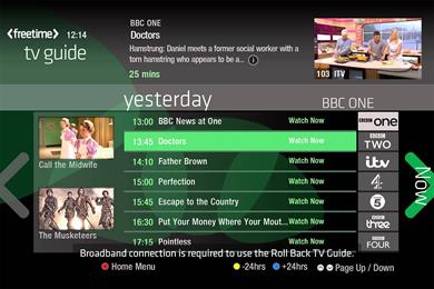Freesat Freetime sales double in Q1