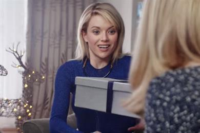 Harvey Nichols aims to stamp out 'gift face' with Christmas campaign