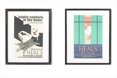 Heal's reveals previously unseen historical ads