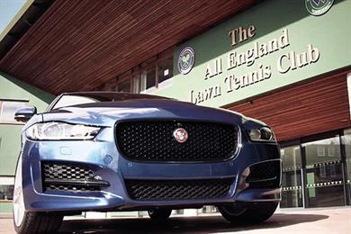 Things we like: Jaguar doing Wimbledon