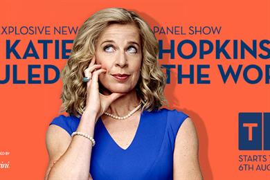 TLC launches campaign for Katie Hopkins entertainment show