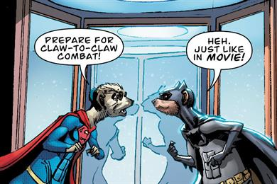 Comparethemarket.com's meerkats get their own Batman and Superman comic book