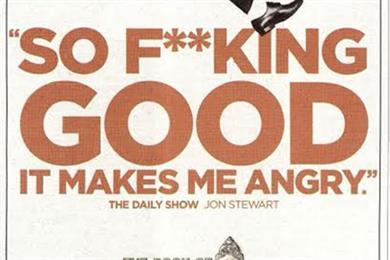 Jon Stewart's 'so f**king good' endorsement of Book of Mormon 'not offensive'
