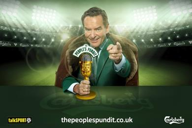 Carlsberg offers fans the chance to provide commentary on TalkSport