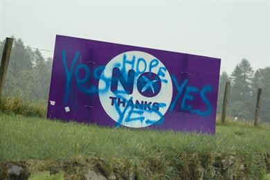 Lessons from the Scottish referendum