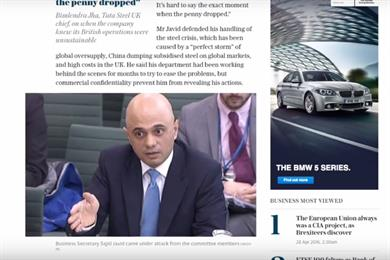 Telegraph launches display ads with guaranteed 10-second viewability