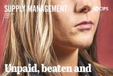 Supply Management magazine relaunches with campaign to end UK slavery