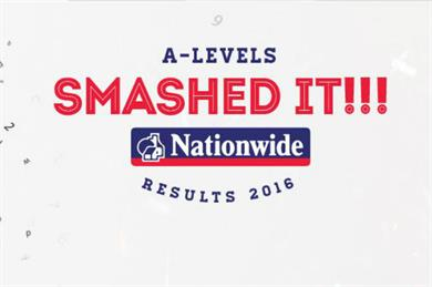 Nationwide sponsors Snapchat Lens and geofilter for A-Level results day