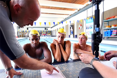 Watch: Swedish Swimming Federation and E.On use VR to battle fear of the water