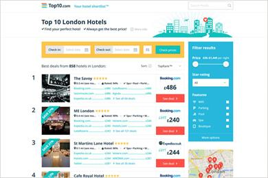Creature wins TV brief from hotel booking start up