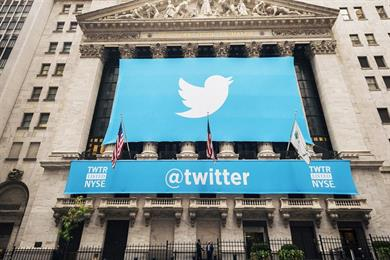 Twitter's ad revenue up 48% but user growth stalls for first time