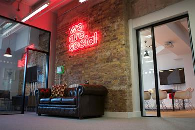We Are Social moves to Shoreditch