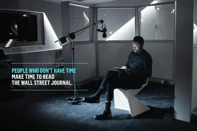 Will.i.am makes time for WSJ in global ad