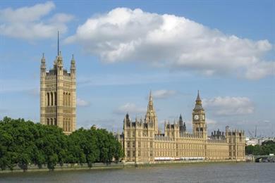 World's media descends on Westminster
