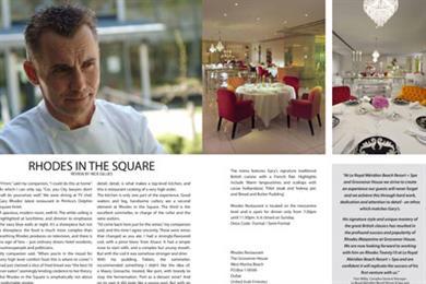 Gary Rhodes launches customer magazine