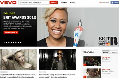 MasterCard sponsors The Brits content on Vevo