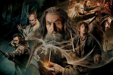 ITV films quick-turnaround ad at Hobbit premiere