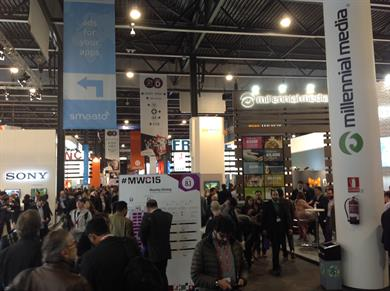 Media at the heart of Mobile World Congress 2015