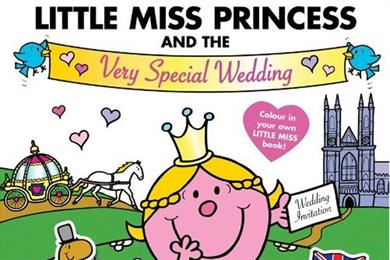 Mr Men creates Little Miss Princess character ahead of Royal Wedding