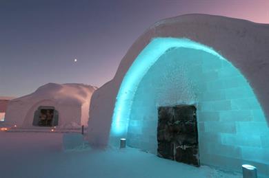 Ice Hotel, Kiruna, Sweden