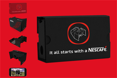 Nescafé and Google team up for VR coffee farm