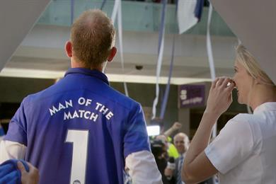 """Nivea """"man of the match"""" by CMW"""