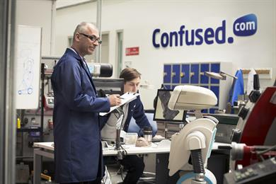 """Confused.com """"lab"""" by Publicis London"""