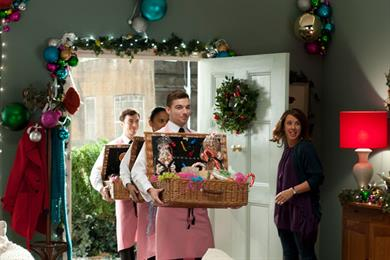 Barclaycard 'win an easier Christmas' by Dare