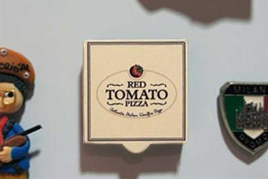 Red Tomato Pizza 'fridge magnet' by TBWA\RAAD Dubai
