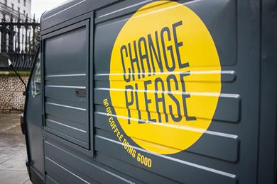 """The Big Issue """"change please"""" by FCB Inferno"""