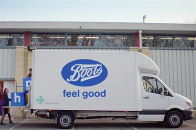 """Boots """"Feel good"""" by Mother"""
