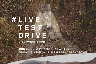 """Land Rover """"live test drives"""" by The Brooklyn Brothers"""