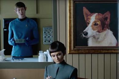 Star Trek Vulcans secure 'dwelling' on Earth in Quicken Loans spots