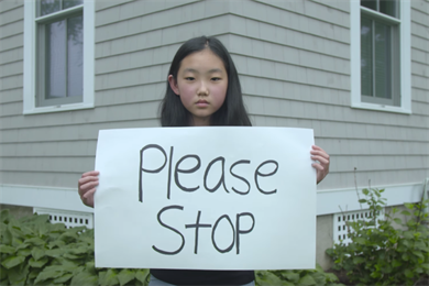 Kids say the most damning things in new Amnesty International PSA