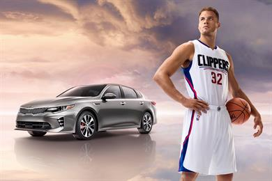 """A very chill Blake Griffin welcomes Kia drivers to """"The Zone"""""""