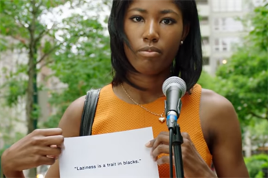 Real New Yorkers refuse to quote Trump in Emily's List spots