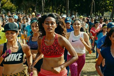 Da da ding: Nike's call to women in India