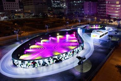"""Nike """"Unlimited stadium"""" by Bartle Bogle Hegarty Singapore"""