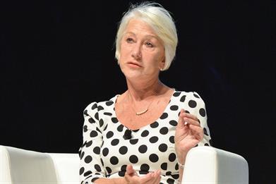 Helen Mirren believes insecurity can actually drive creativity