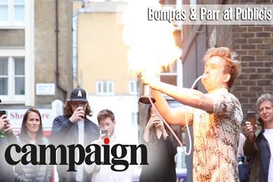 Campaign TV: Bompas & Parr delivers explosive evening at Publicis