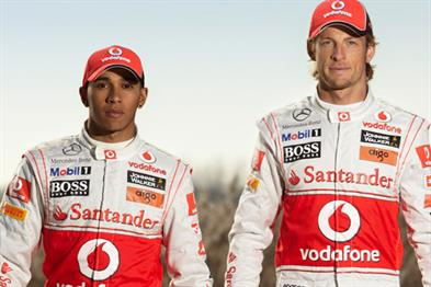 Lewis Hamilton and Jenson Button: McLaren F1 drivers