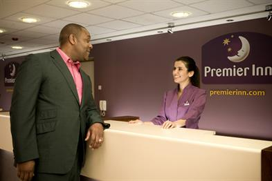 Premier Inn: links up with TripAdvisor